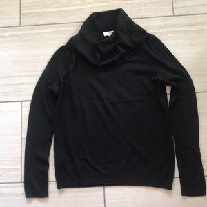Loft Black Cowl Neck Sweater